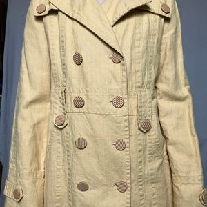 Marc Jacobs Yellow Trench Coat
